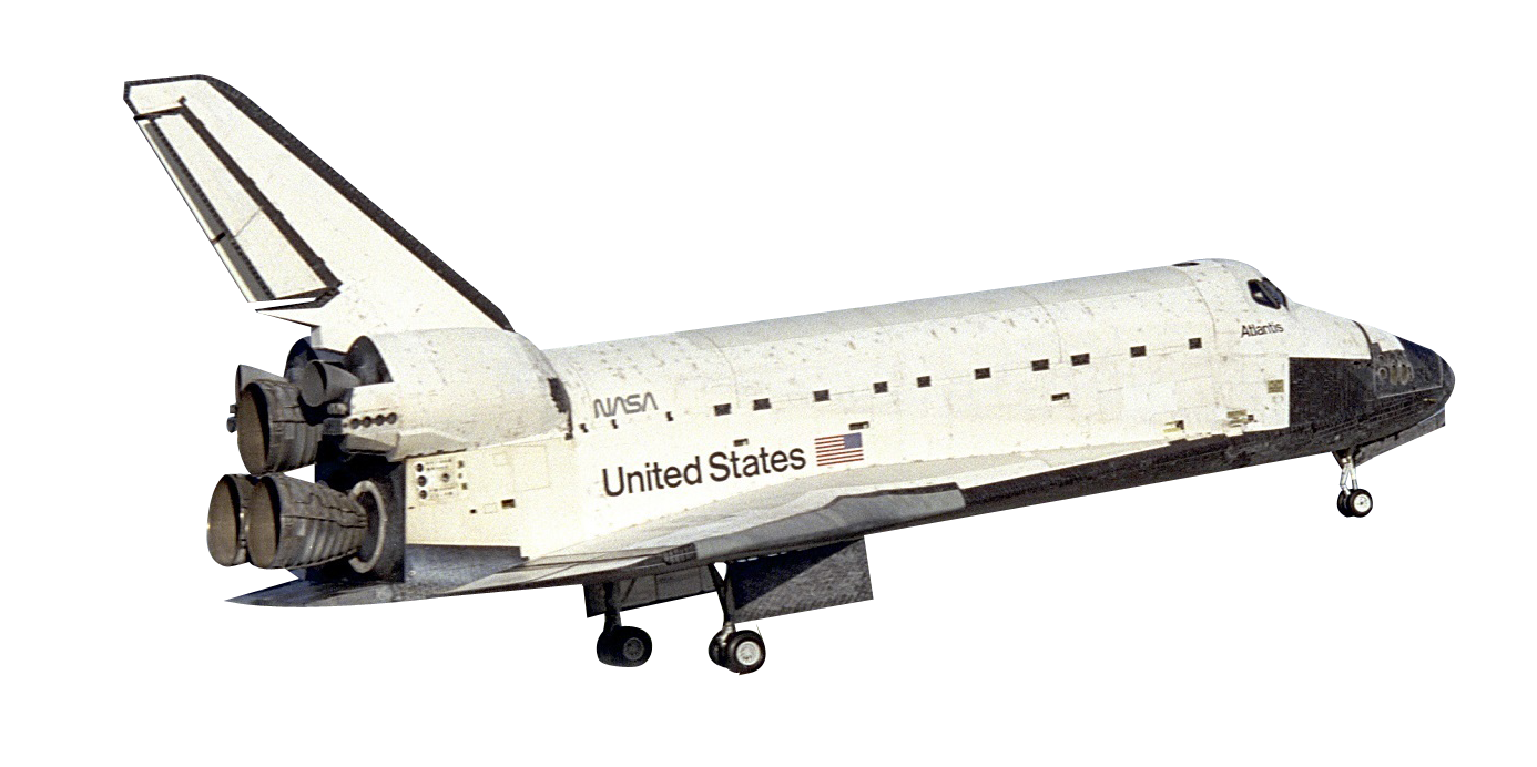 Space Shuttle PNG Image
