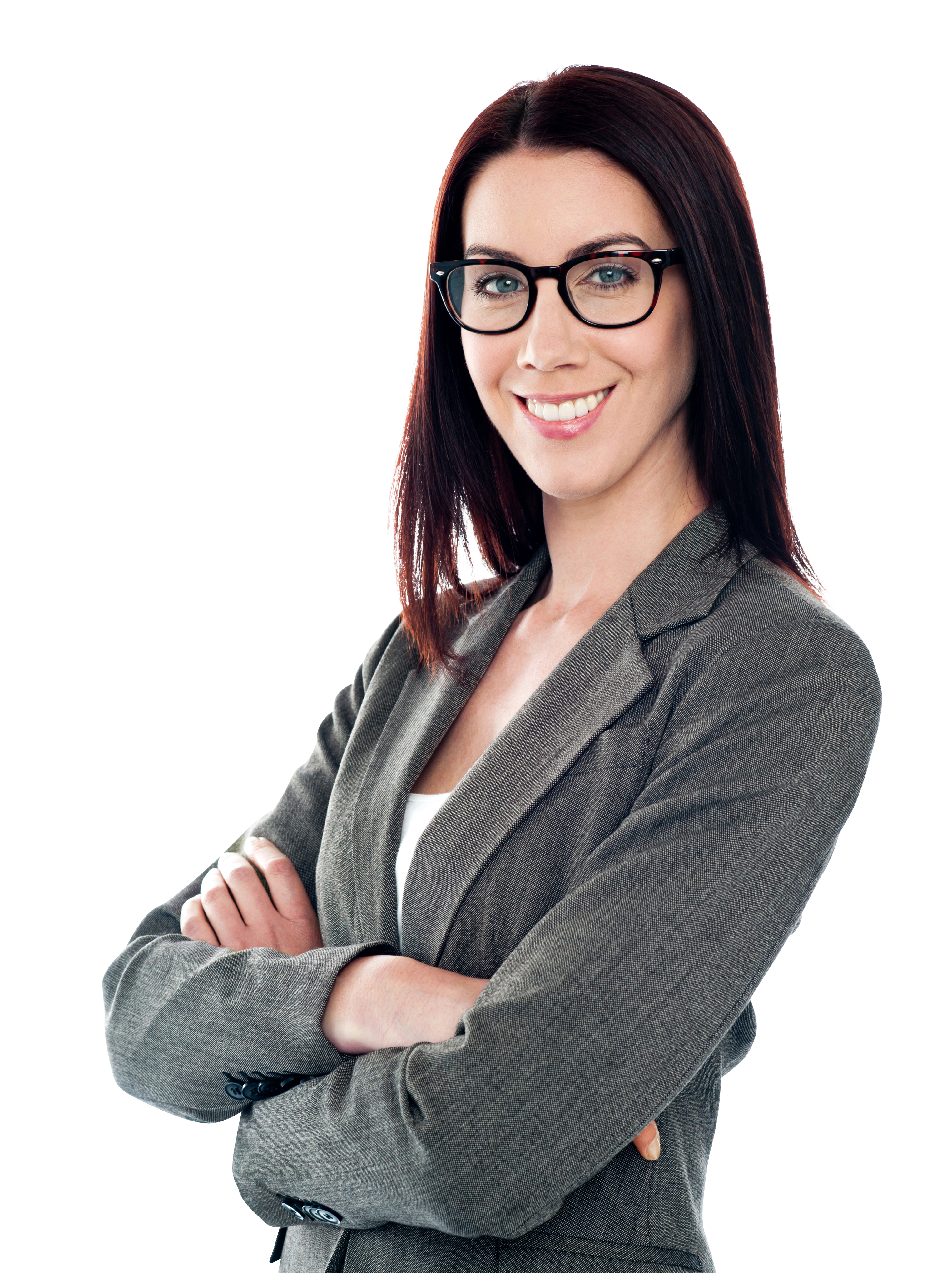 Specs Girl PNG Image