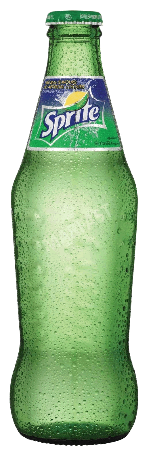 Sprite in a Glas Bottle PNG Image