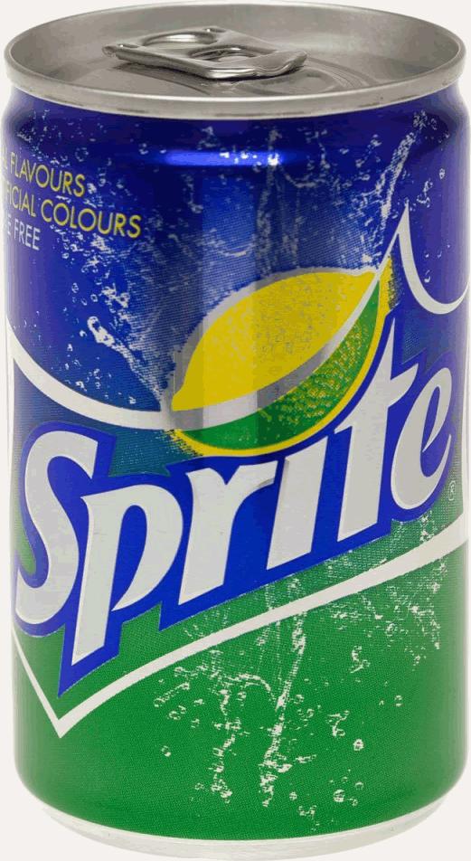 Sprite in a Can