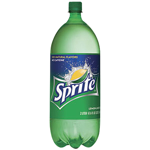 Sprite in a Plastic Bottle PNG Image
