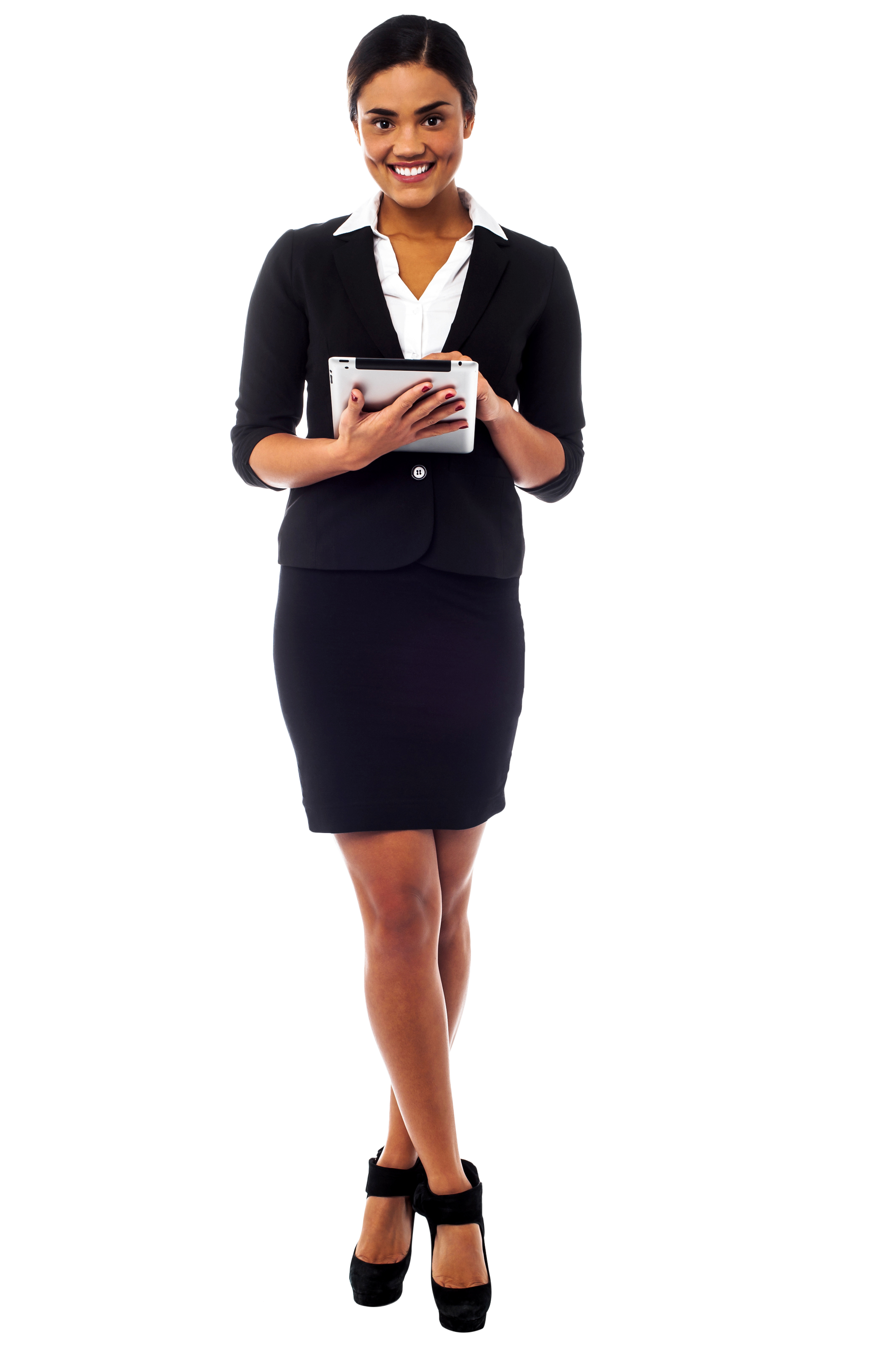 Standing Girl PNG Image