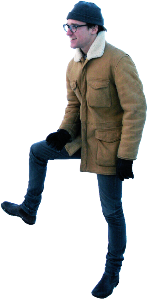 Standing Winter PNG Image