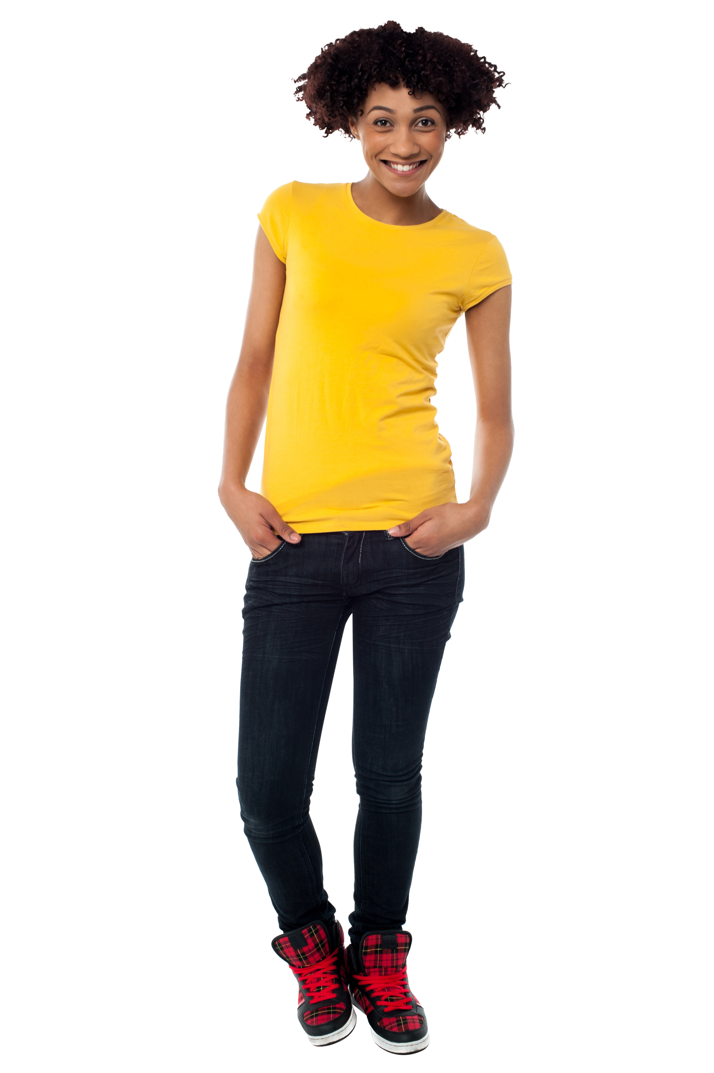 Standing Women PNG Image