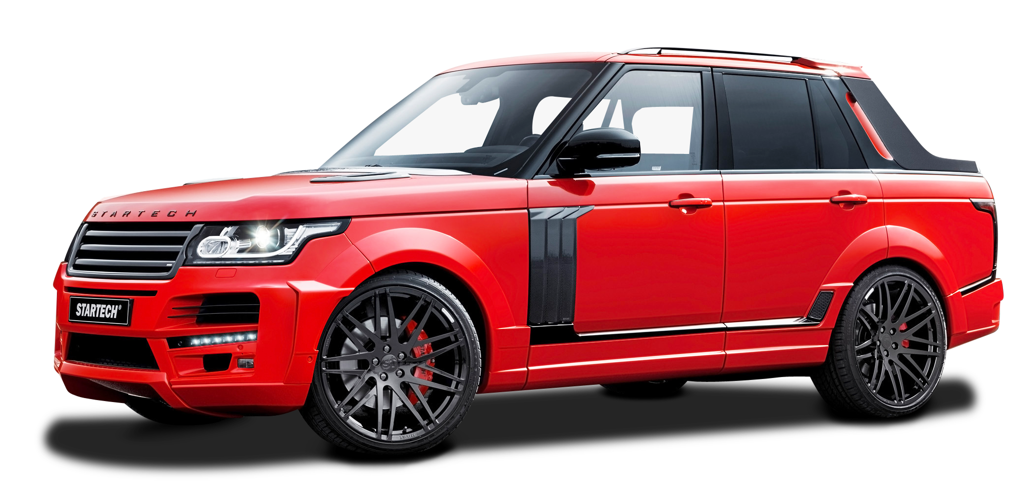 Startech Range Rover Pickup Red Truck