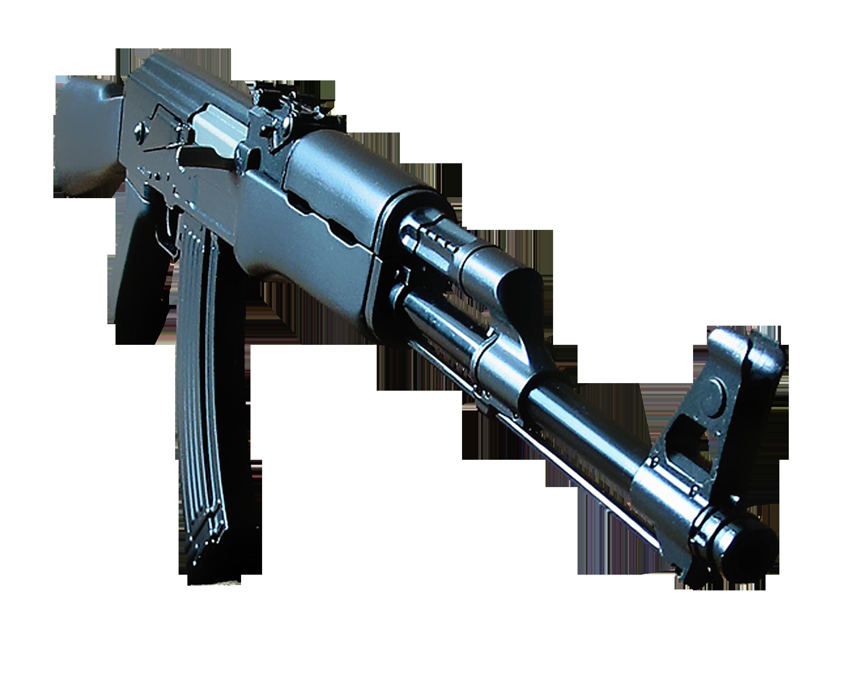 Steel Ak-47 PNG Image