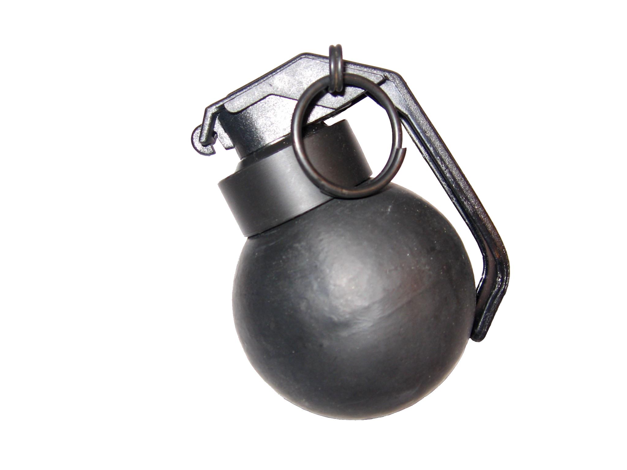 Steel Grenade PNG Image