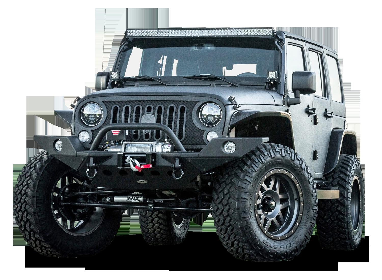 Strut Jeep Wrangler SUV PNG Image