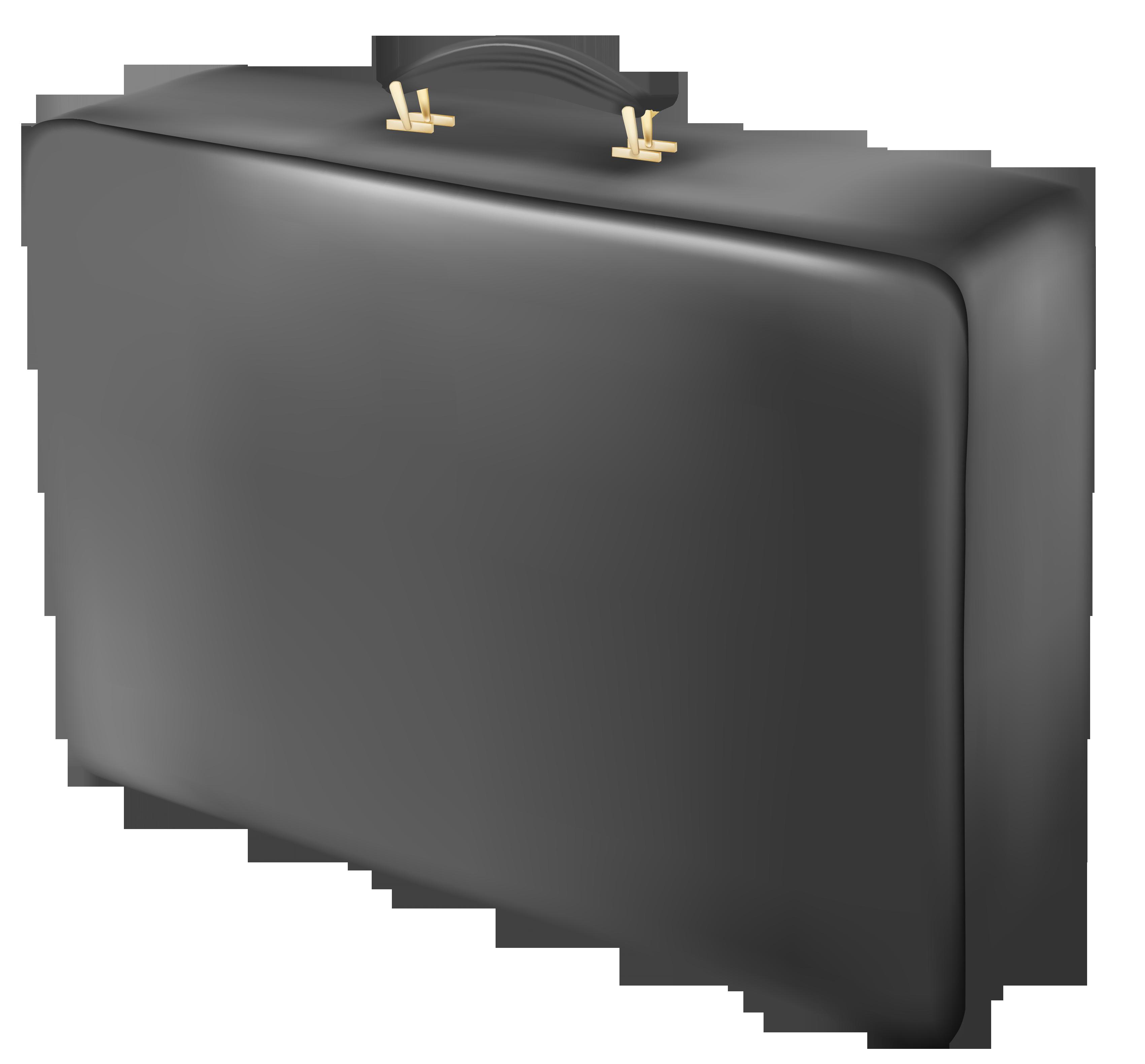 Suitcase Black PNG Image