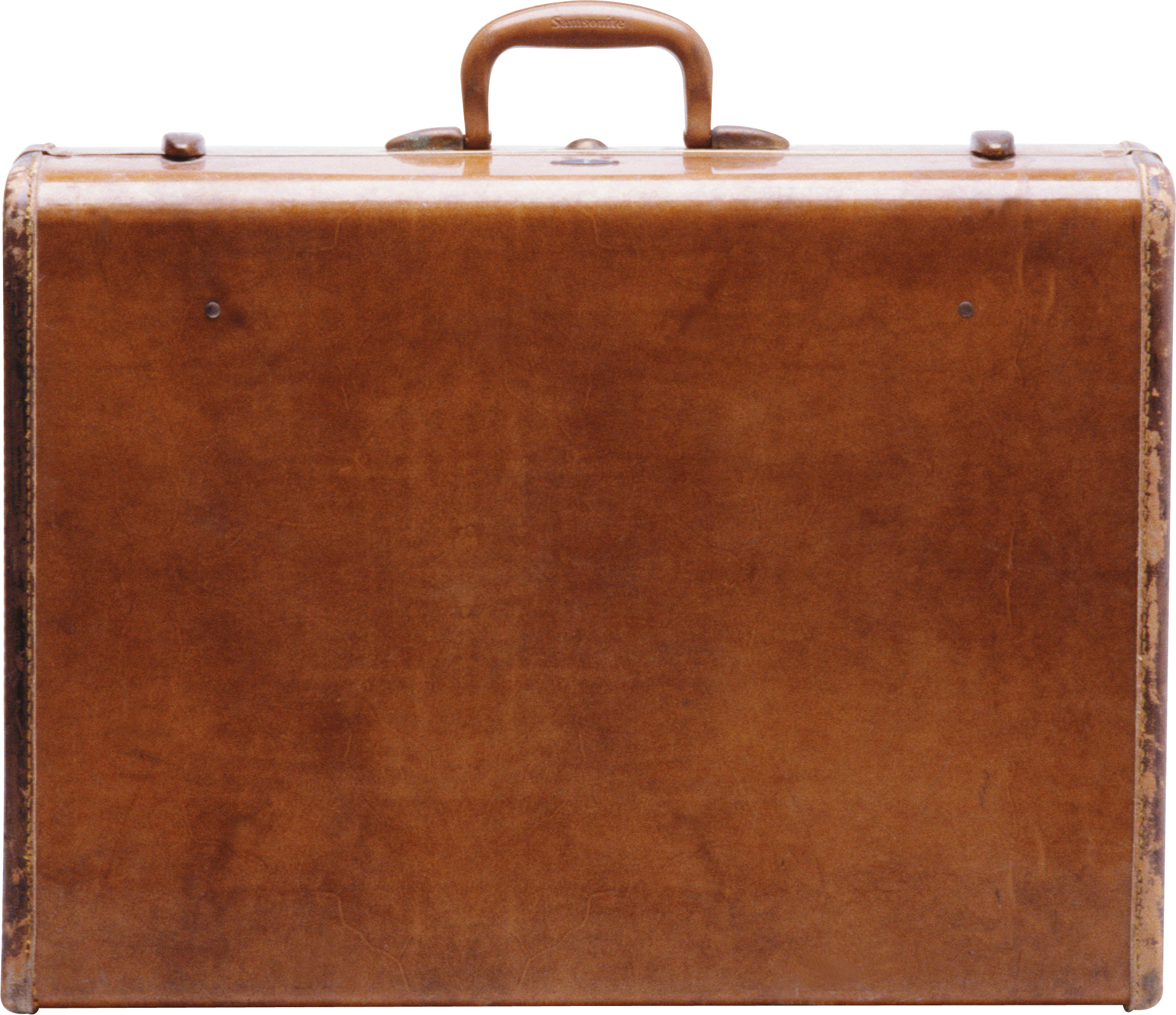 Suitcase Brown PNG Image