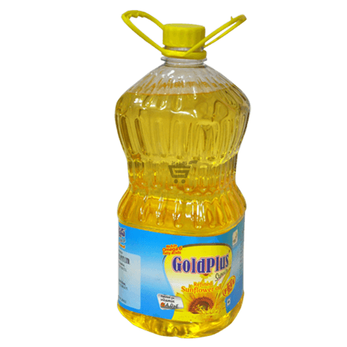 Goldplus Sunflower Oil PNG Image