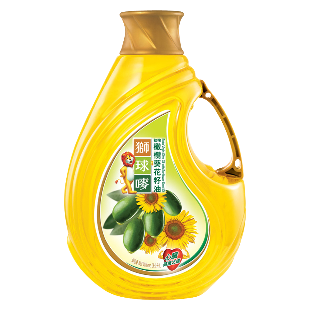 Chinese Sunflower Oil PNG Image
