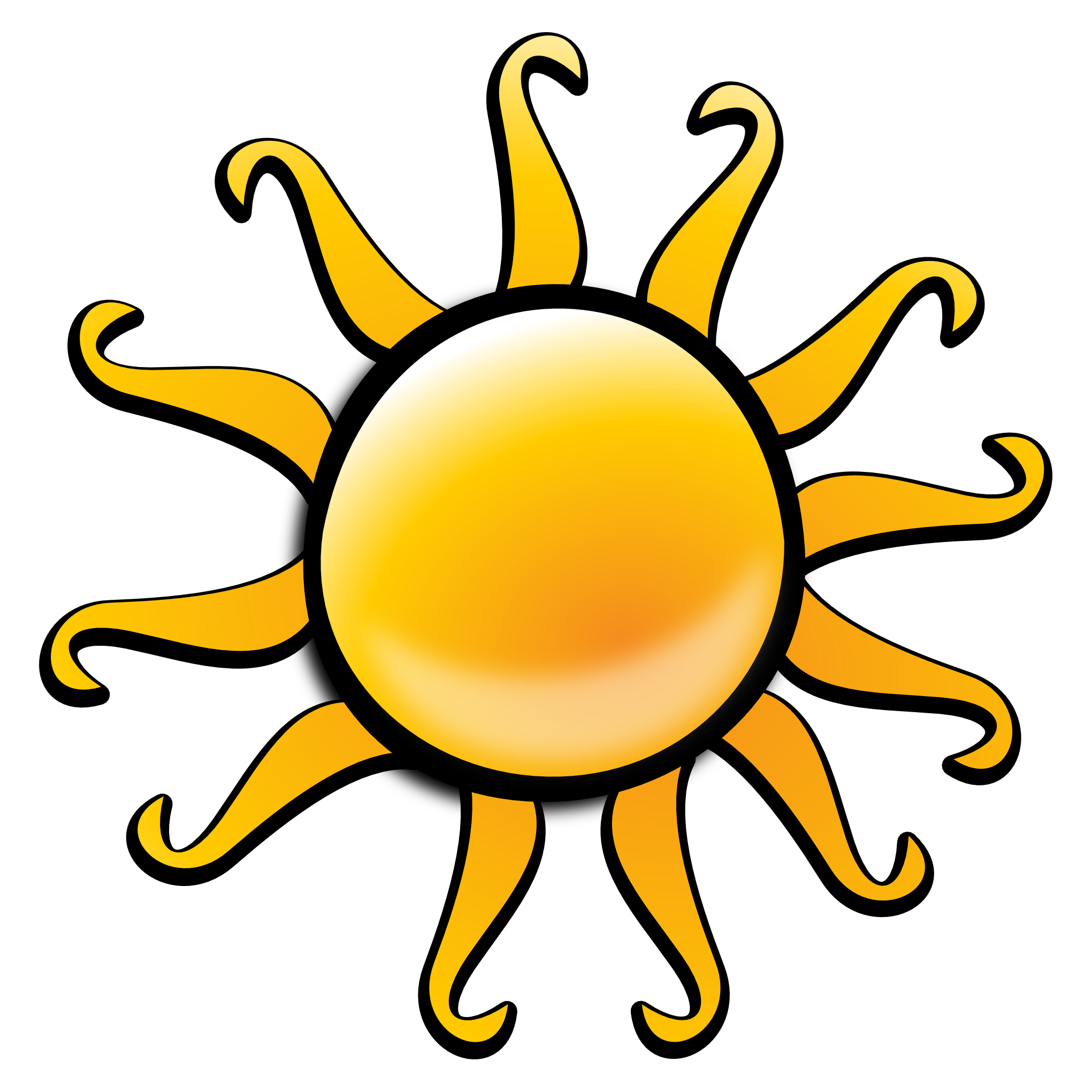 Sun PNG Image