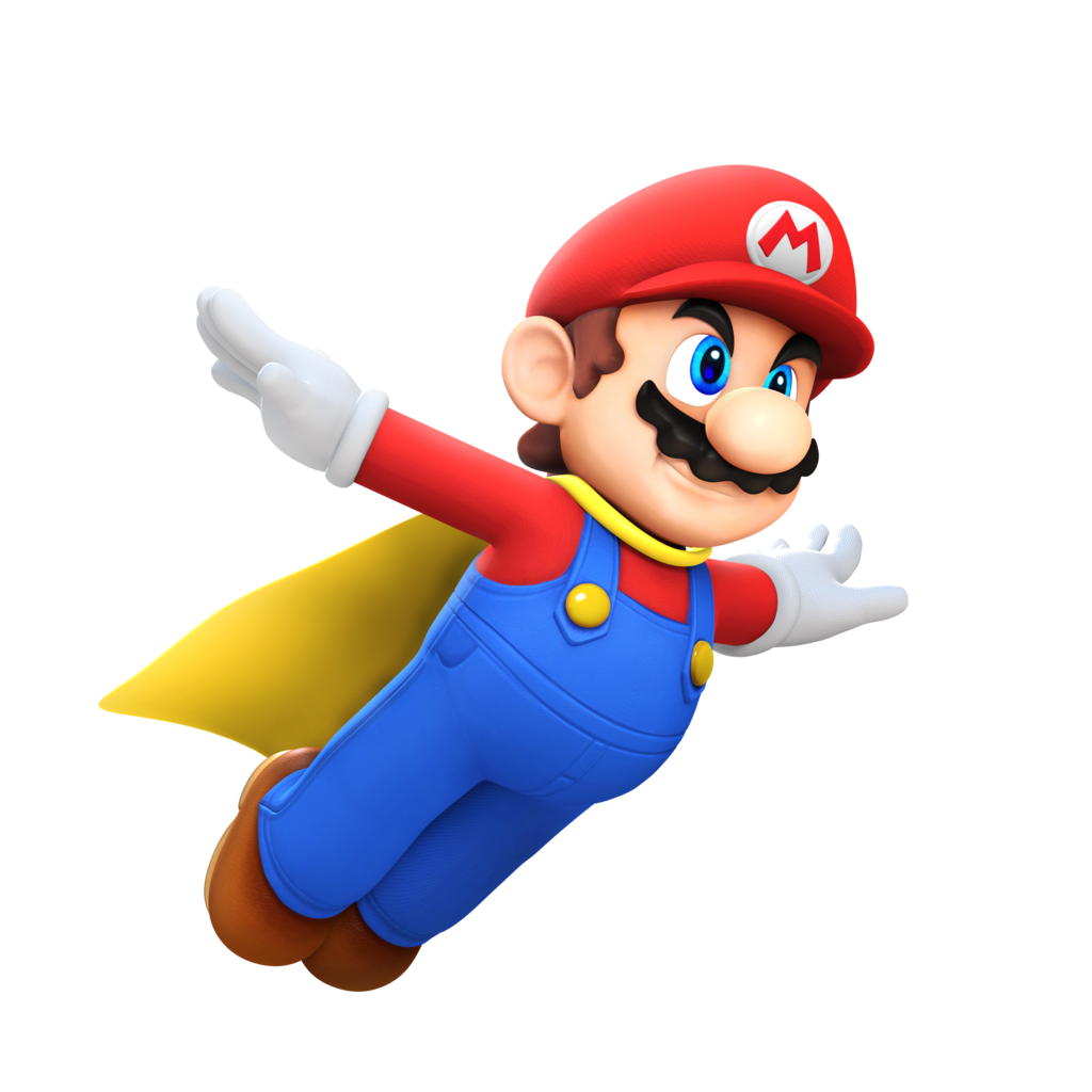 Super Mario Flying