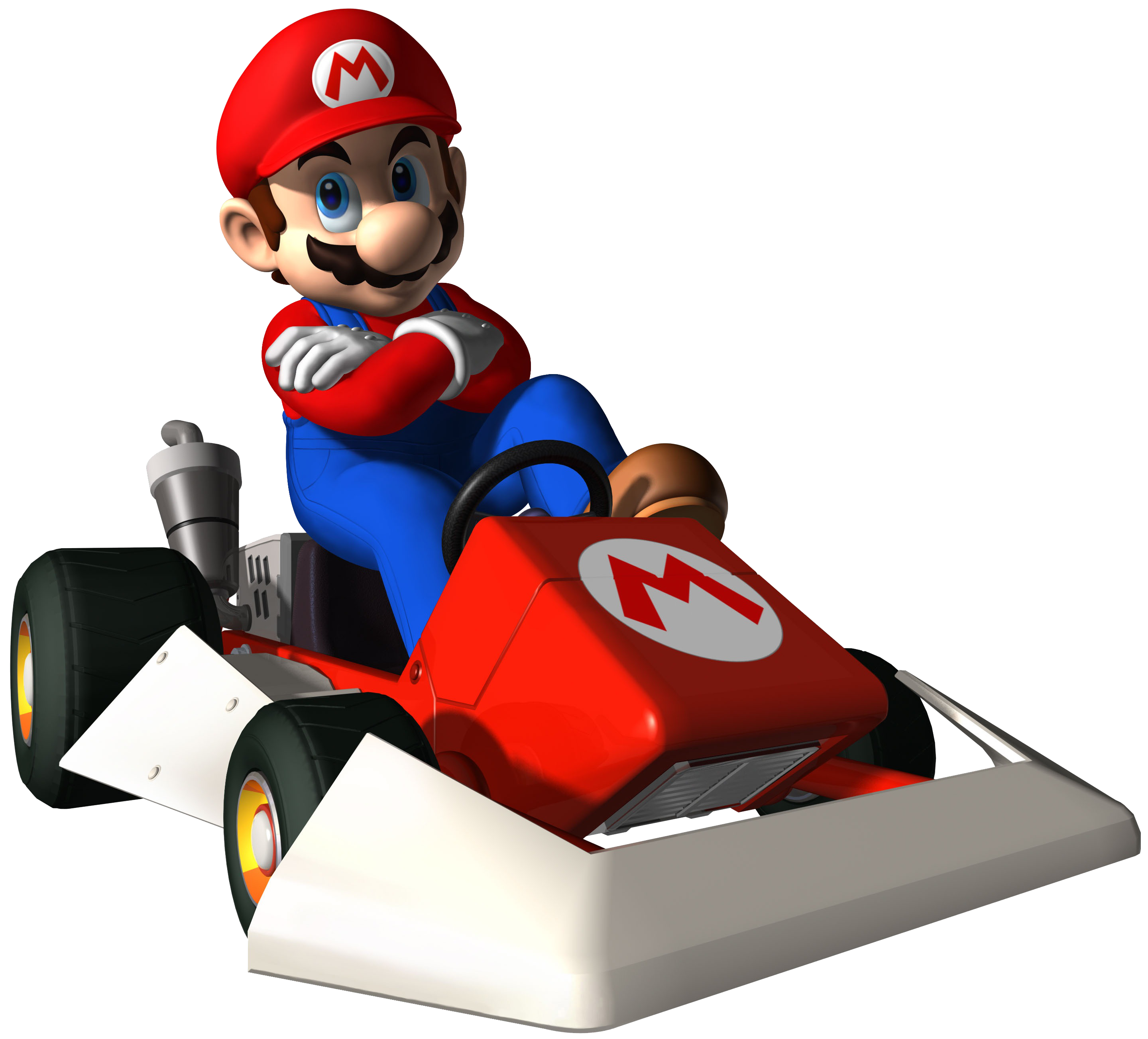Super Mario On Cart