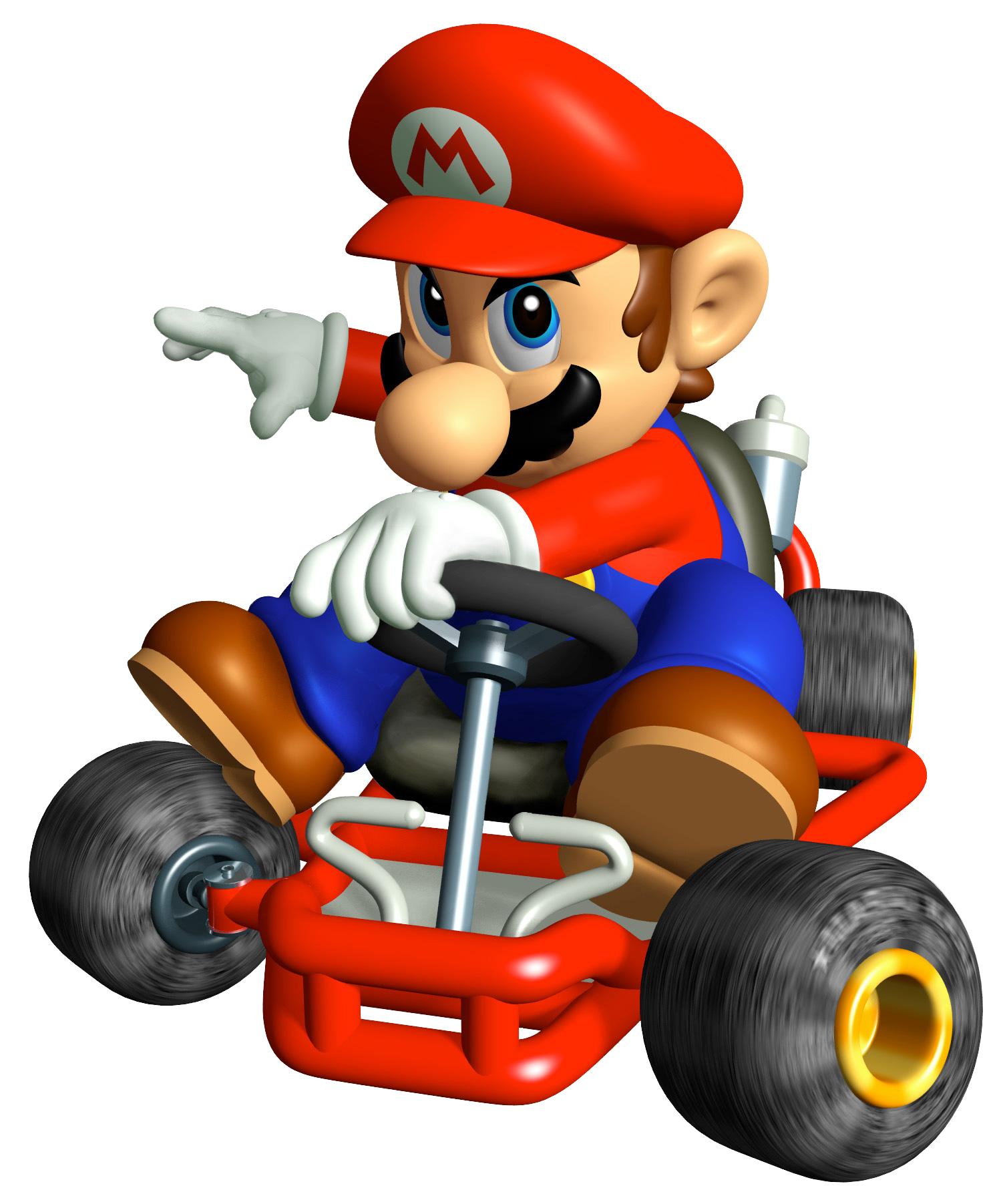 Super Mario On Kart