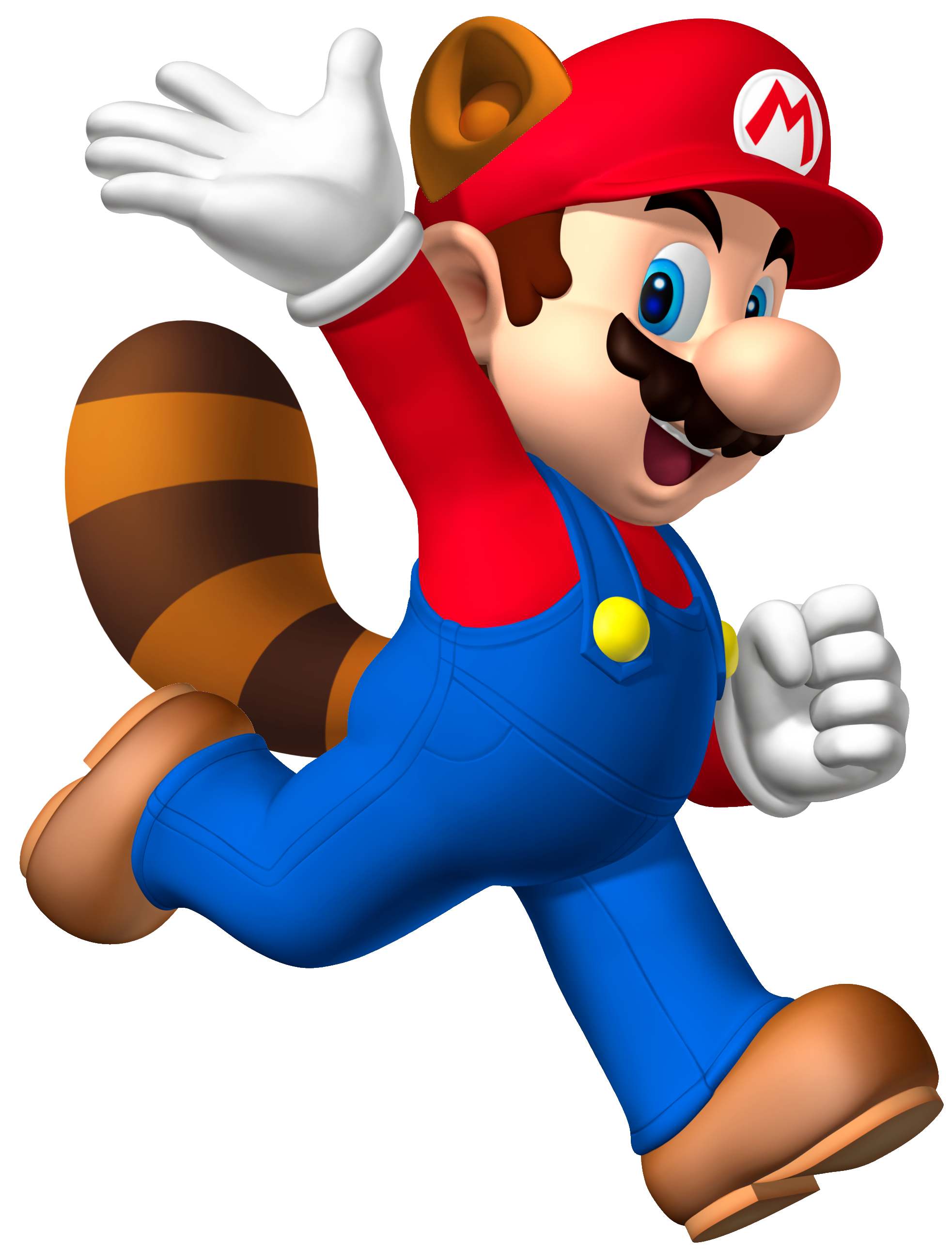 Super Mario  Raccoon PNG Image