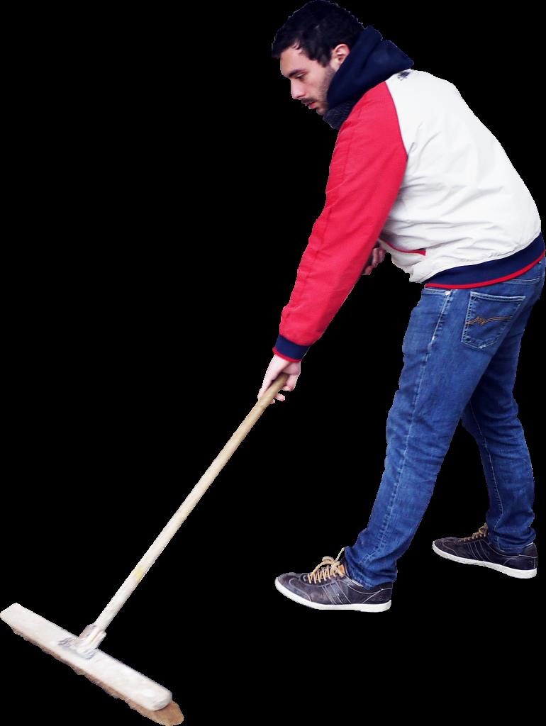Sweeping Standing