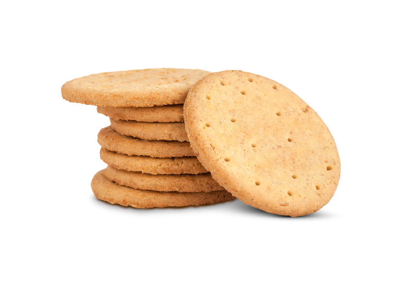 Swiss Cookies Stacked