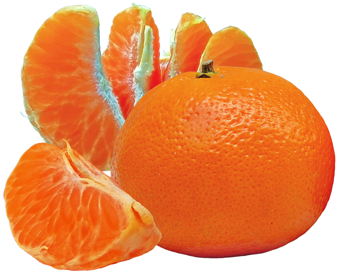 Tangerines and Slices