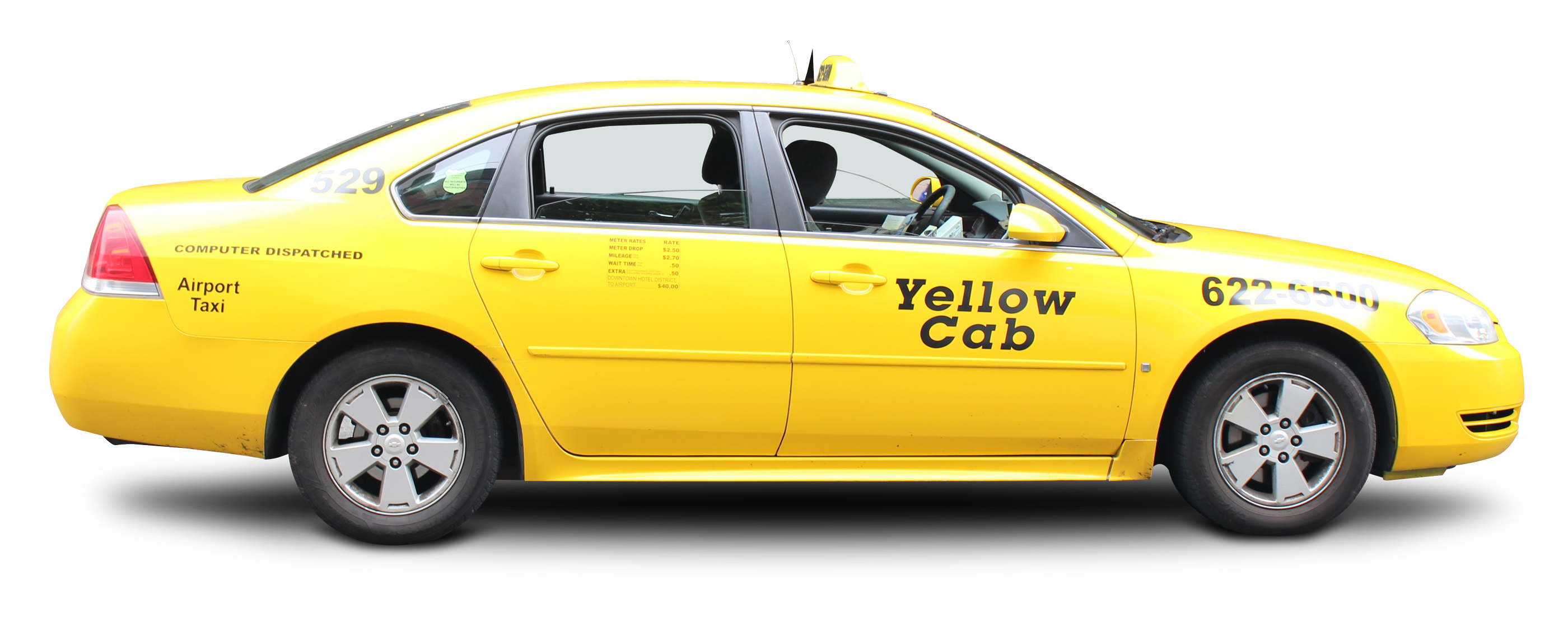 Taxi Cab PNG Image