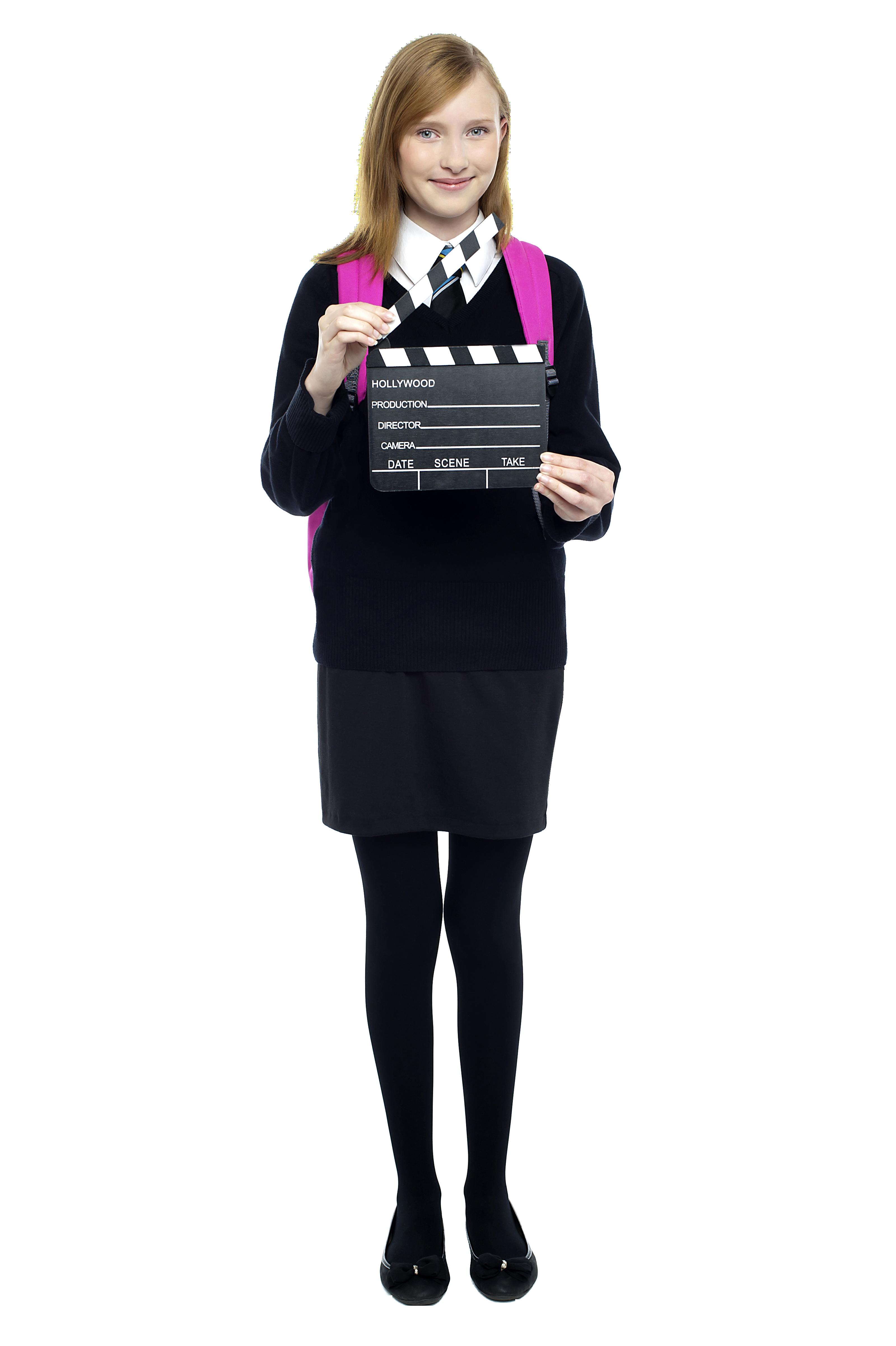 Teenage Girl PNG Image