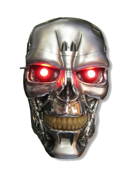 Terminator Skull / Head PNG Image