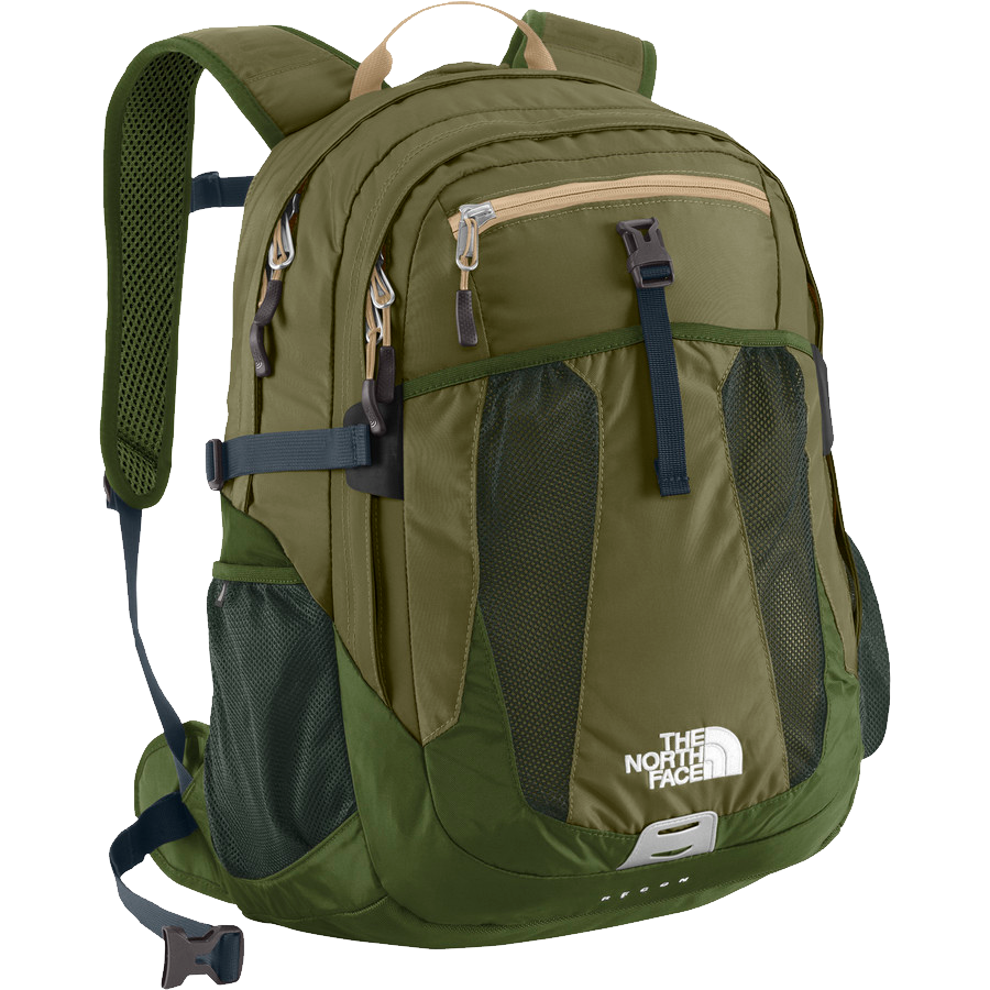 The North Face  Recon Burnt Olive Green PNG Image