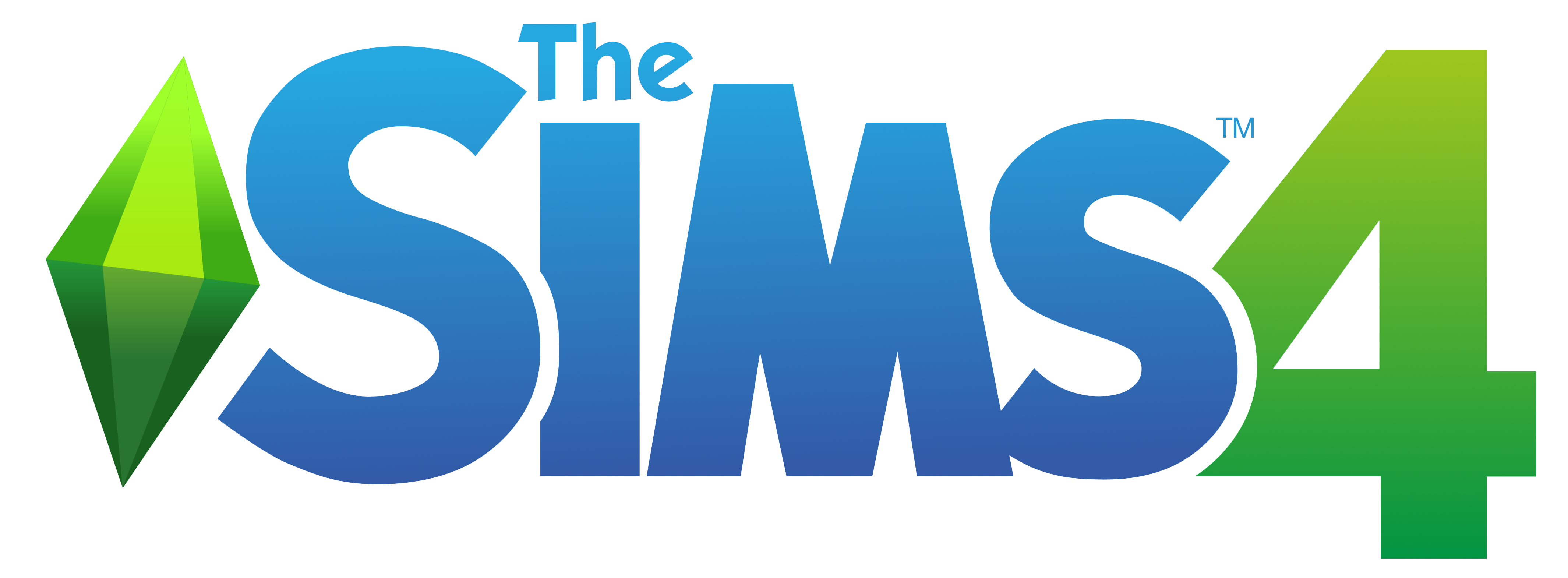 The Sims 4 Logo PNG Image