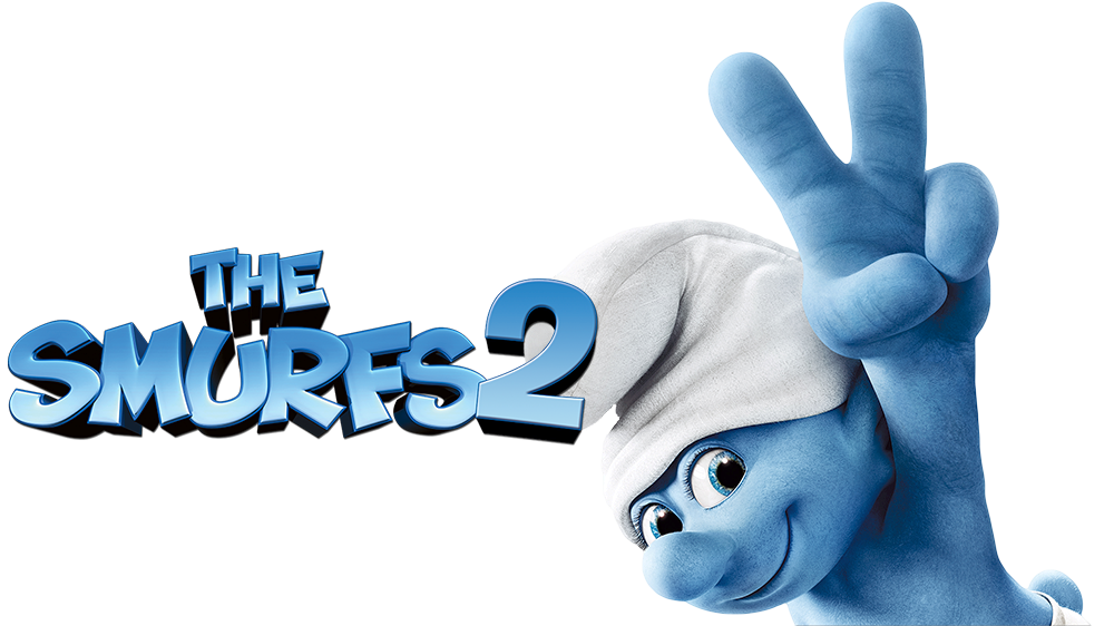 The Smurfs 2 Logo PNG Image