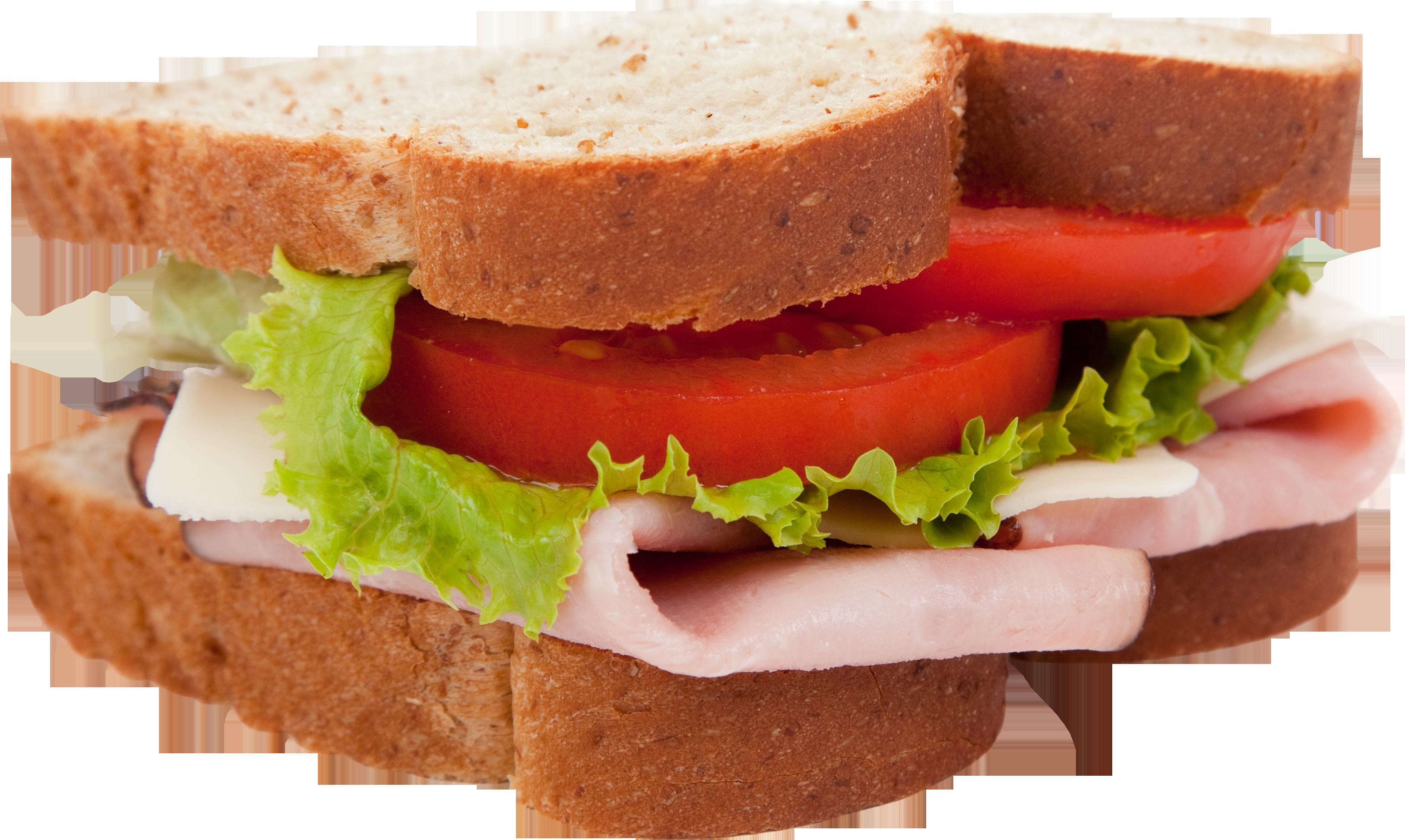 Картинка бутерброда на прозрачном фоне