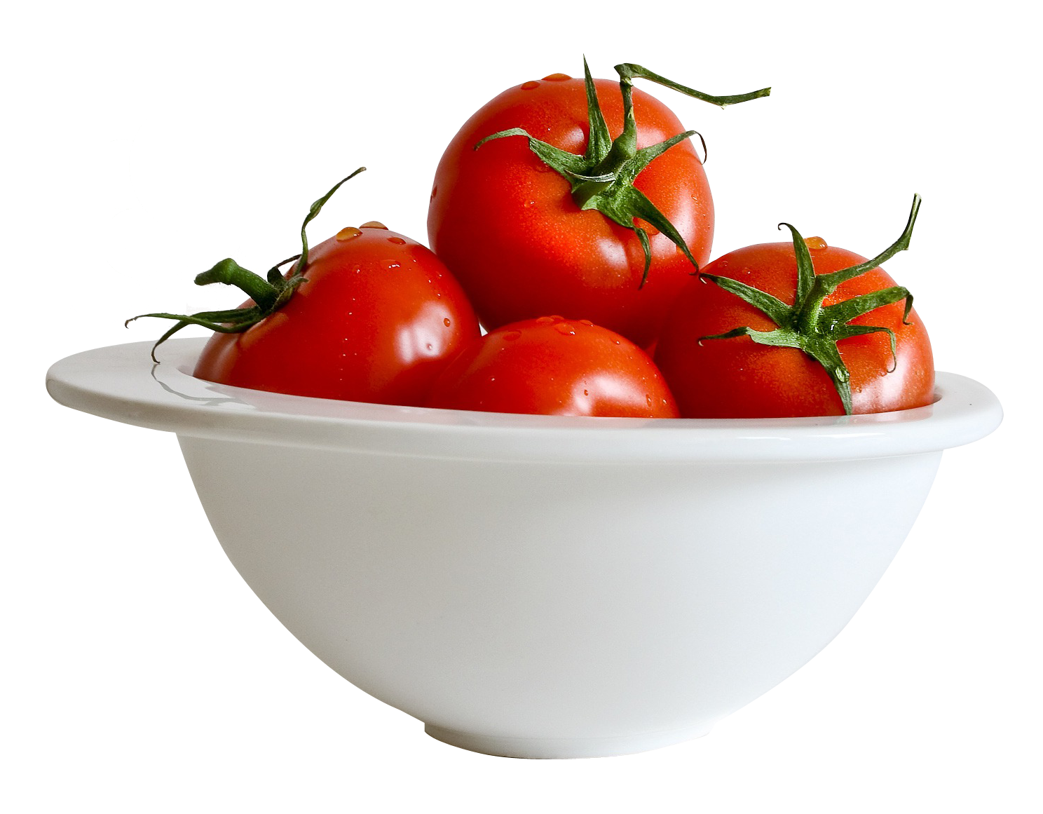 Tomato In Bowl PNG Image
