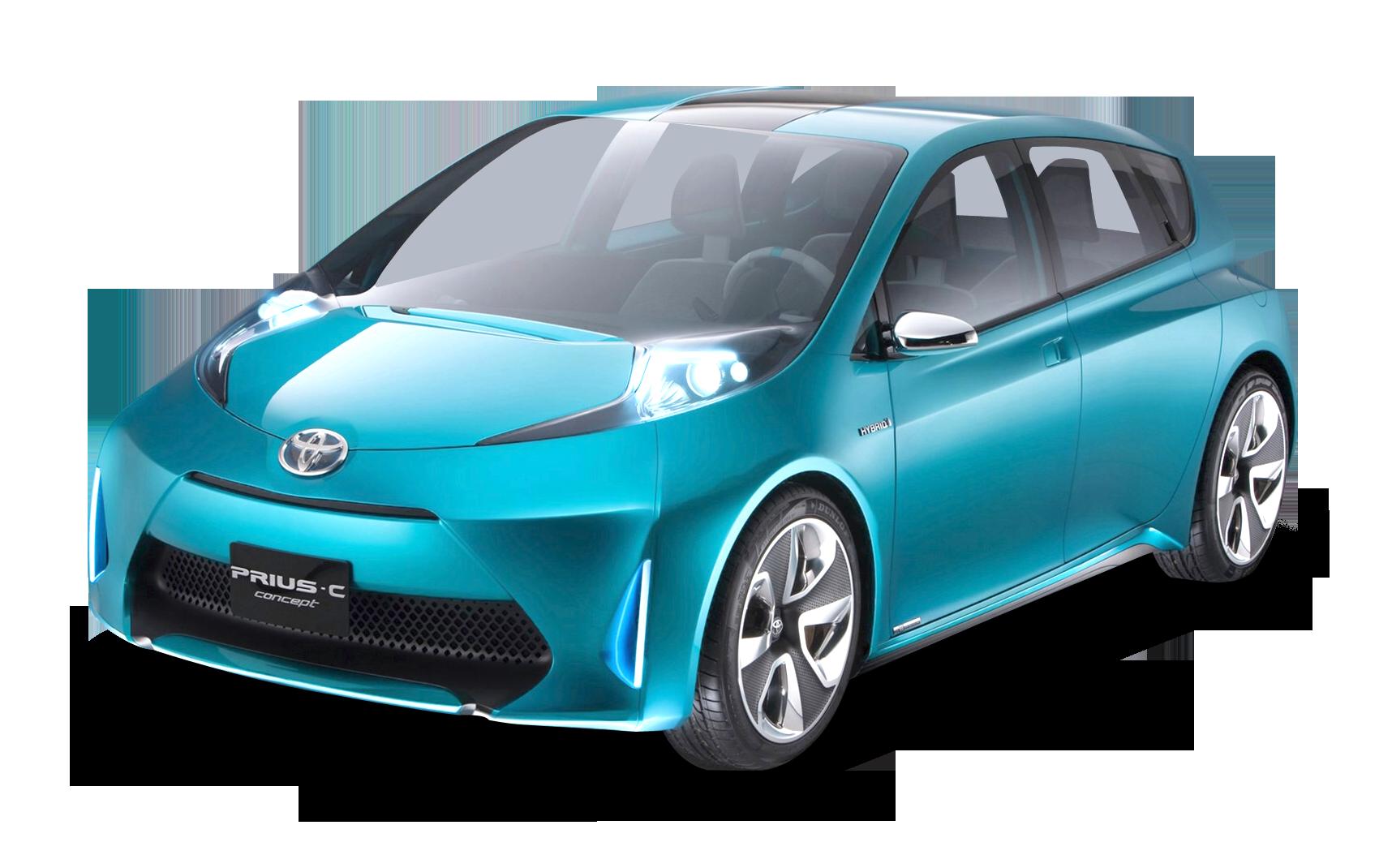 Toyota Prius C Car PNG Image