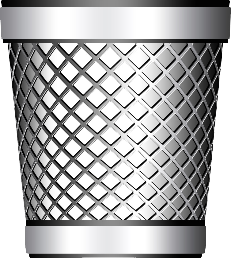Trash Can PNG Image