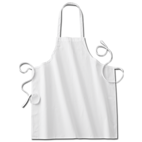 Twinklebelle White Fabric kids'chef Apron