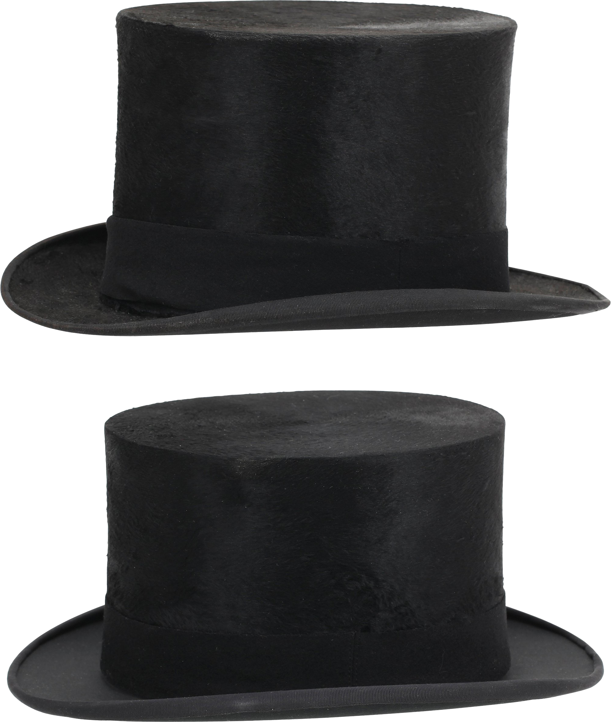Two Black Hat PNG Image