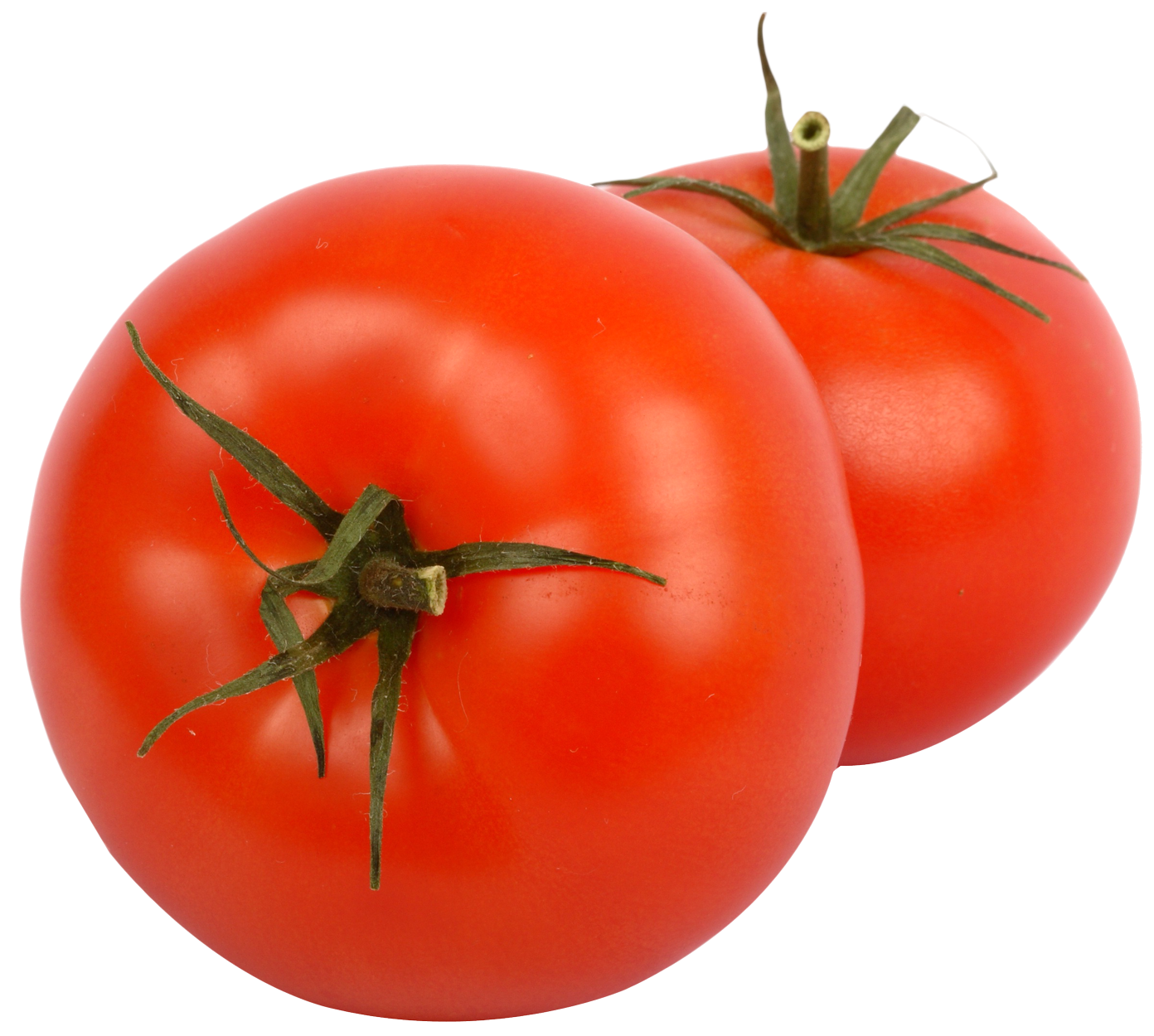 Two Juicy Tomato PNG Image