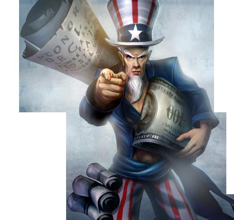 Uncle Ryze Skin LoL American
