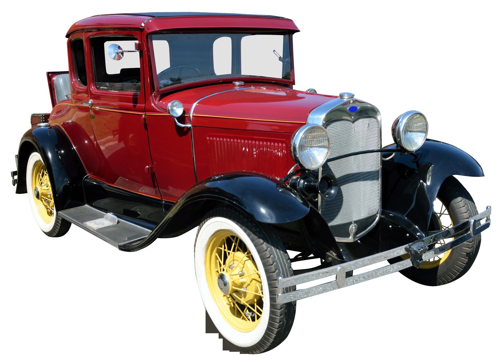 Vintage Car PNG Image