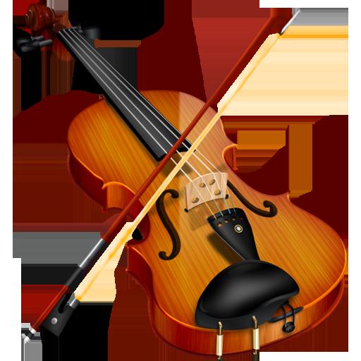 Violin  & Bow PNG Image