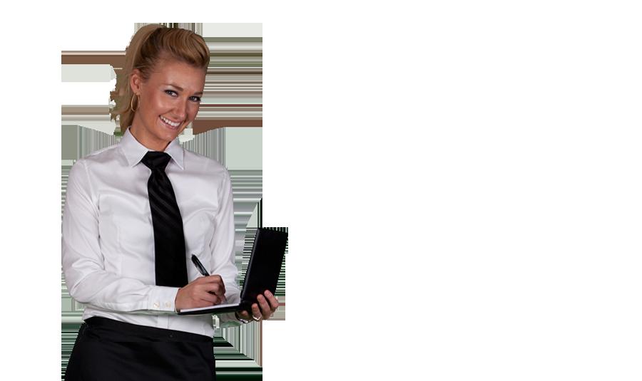 Waitress PNG Image