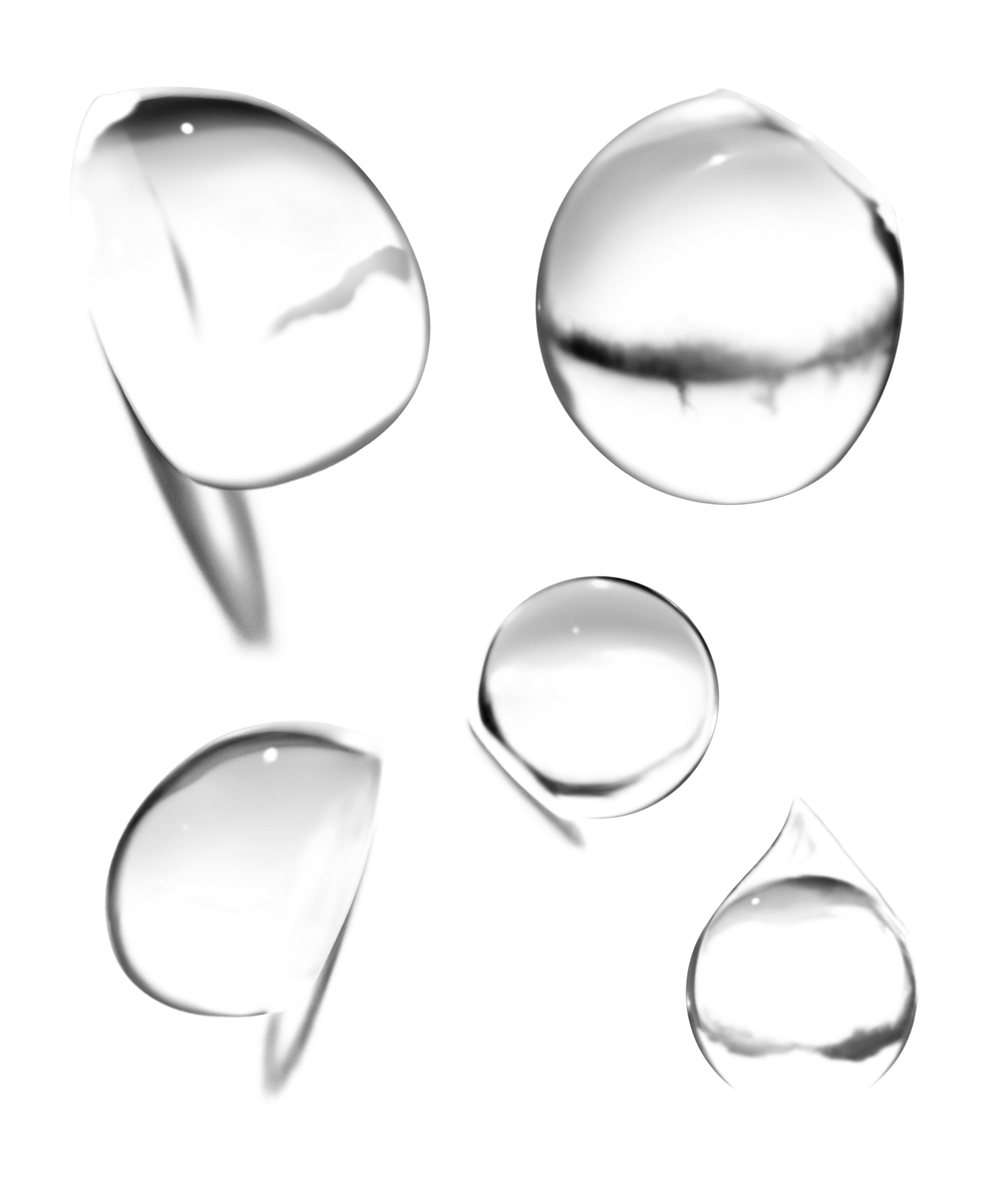 Water Drop PNG Image