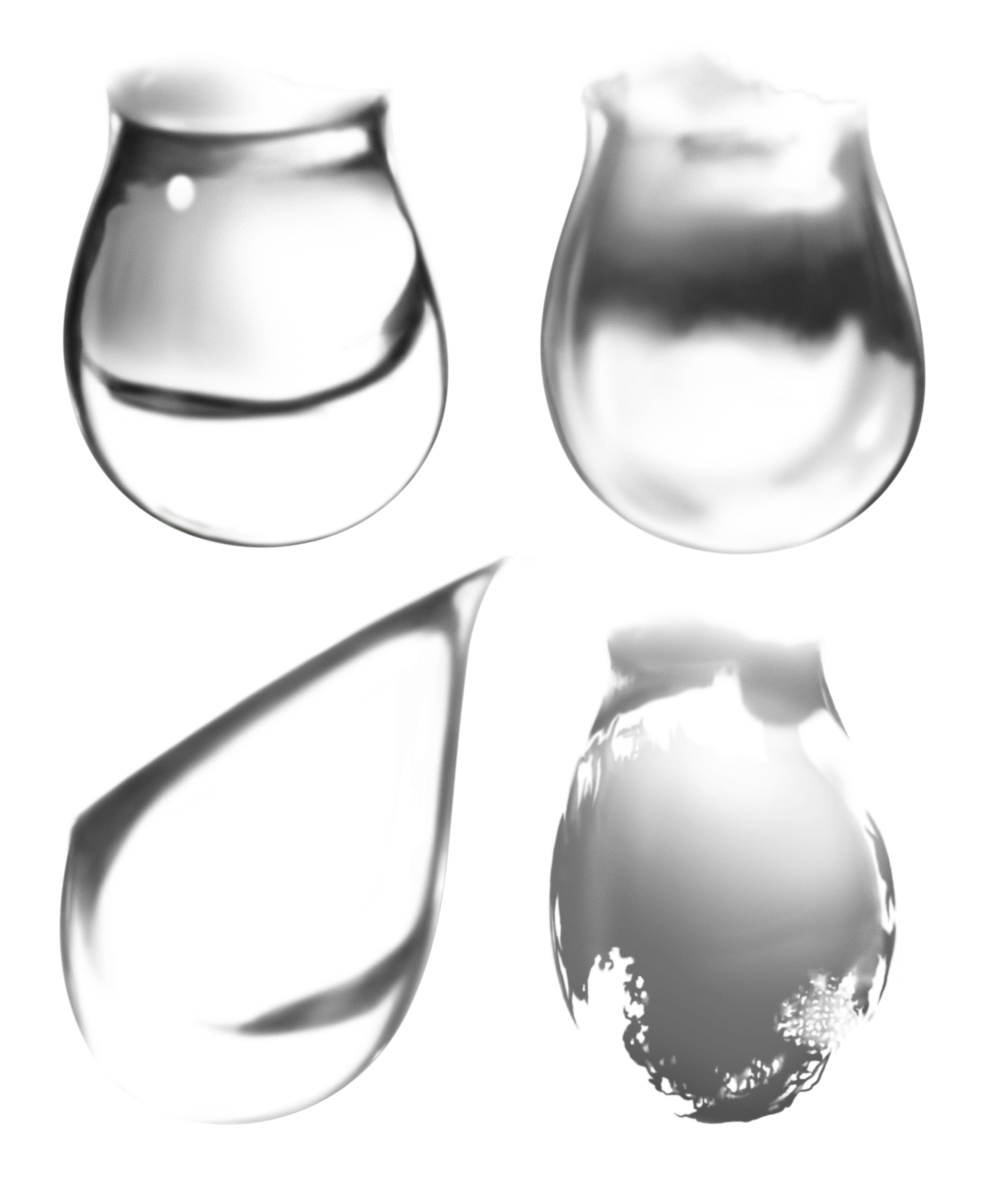 Water. Bubbles  PNG Image