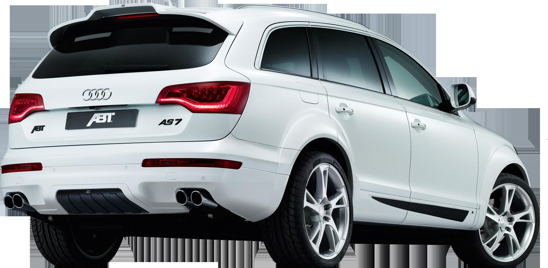 White Audi PNG Image