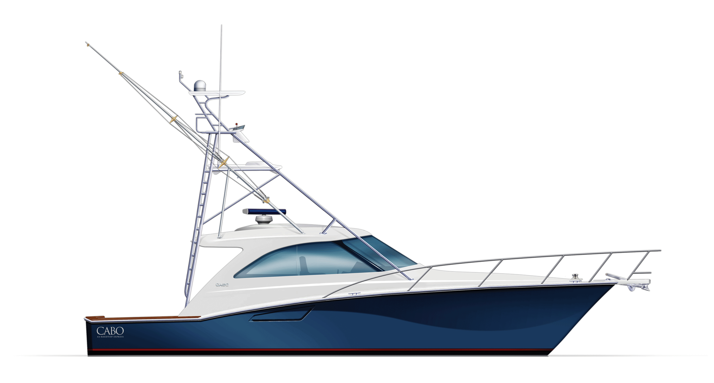 White Boat PNG Image