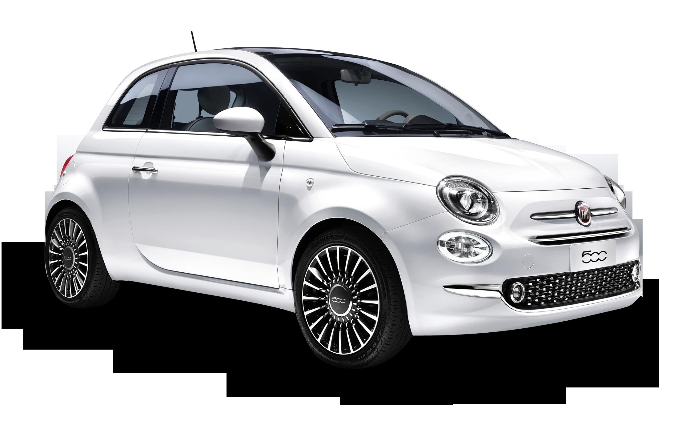 White Fiat 500 Car Png Image Purepng Free Transparent Cc0 Png