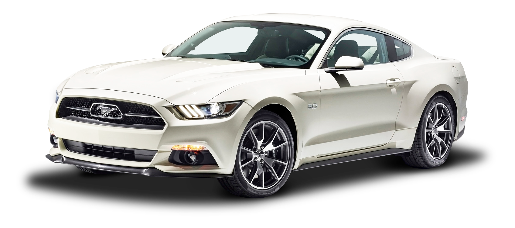 White Ford Mustang Gt Fastback Car Png Image Purepng Free