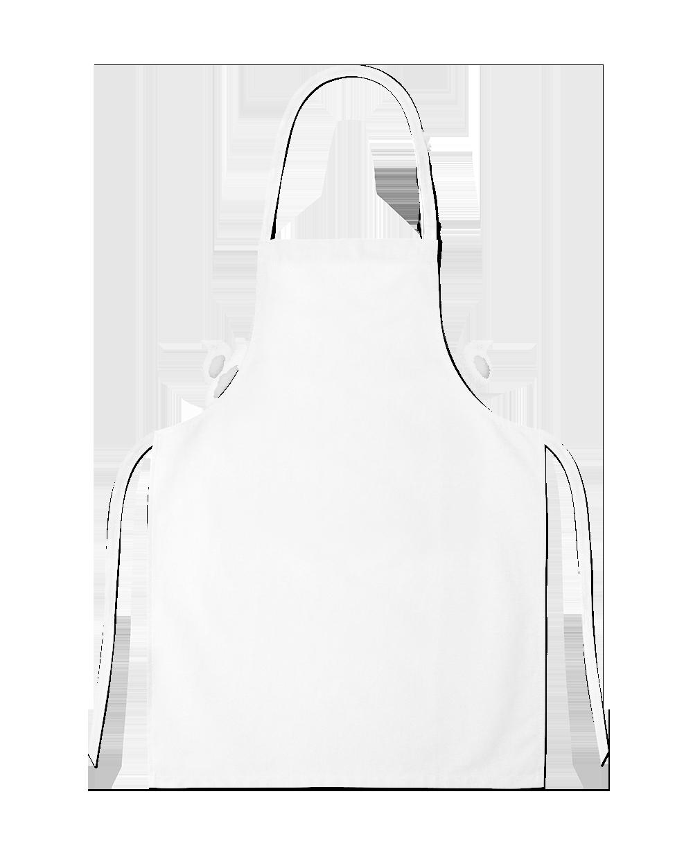 White Full Apron PNG Image