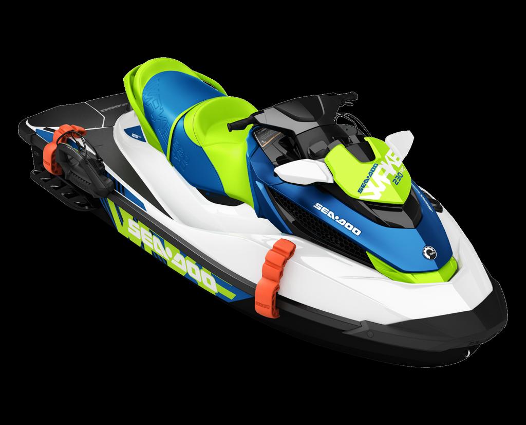White Jet Ski