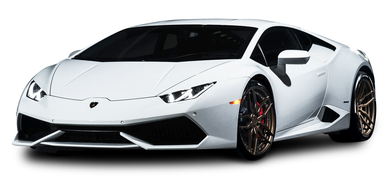 White Lamborghini Huracan Car Png Image Purepng Free Transparent